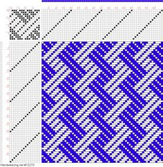 Image result for weaving draft for circles
