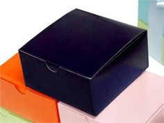 Navy Cake Boxes for Favors $29.99 for 100