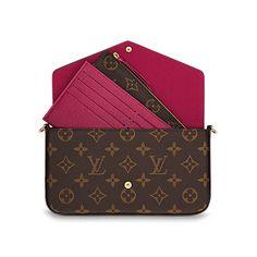 Louis Vuitton Felicie Chain Wallet -  925. 8.3 x 4.3 x 0.8 inches Louis  Vuitton 73dd5c19de1