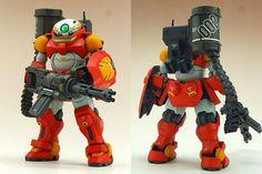 GUNDAM GUY: 1/144 Grimore [Heavy Arms] - Custom Build