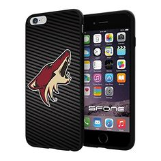 "Arizona Coyotes Carbon Fiber Design #1707 iPhone 6 Plus (5.5"") I6+ Case Protection Scratch Proof Soft Case Cover Protector SURIYAN http://www.amazon.com/dp/B00X4JWLSI/ref=cm_sw_r_pi_dp_cahwvb1XGPQ3F"