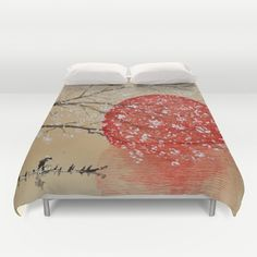 LOVE these Duvet Covers featuring Japan by Japan Art . Hand sewn and meticulously crafted.