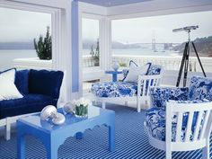 Blue is an all-around crowd pleaser, the VIP of the crayon box. A go-to hue, blue is easy to decorate with and, more importantly, live in. From calming sky blue to electrifying cobalt, there's a blue hue that suits every style. Get inspired by 12 rooms that will do anything but give you the blues.