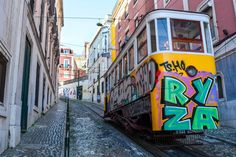 Lisbon, Portugal: The Best of the City in 2 Days - the unending journey Day Trips From Lisbon, Lisbon Portugal, Old City, Capital City, Rome, Vibrant Colors, Old Things, Journey, Old Town