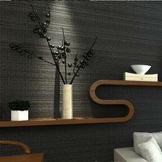 Schwarz Weiß Wohnzimmer Einrichten Muster Uhr   Wandgestaltung ... Wohnzimmer Tapeten Schwarz Weis