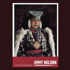 Cardset of 10 Jimmy Nelson greetingcards.