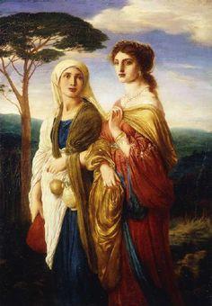 Image: Simeon Solomon - Judith und ihre Dienerin