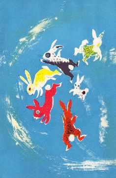 The Christmas Bunny, illustrated by Nicolas Mordvinoff, written by William Lipkind, 1953