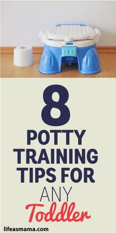 8 Potty Training Tips For Any Toddler Source by LifeAsMama Toddler Fun, Toddler Activities, Kids And Parenting, Parenting Hacks, Toddler Potty Training, Baby Potty, Toilet Training, Baby Time, Baby Milestones