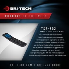 Product of the Week: TSR-302 Handheld Touchscreen Remote