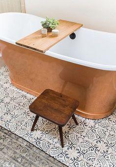 66 Simple Bathtub Designs For Small Bathroom