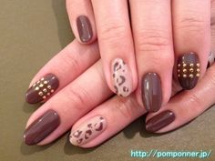 pink and brown nails - Google Search