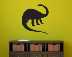 Dinosaur Wall Decal Vinyl Dinosaur Wall Decor by JaneyMacWalls