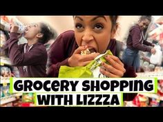 STEALING FOOD?! GROCERY SHOPPING WITH LIZZZA   Lizzza
