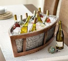 Shop for Bronson Boat Cooler by Pottery Barn at ShopStyle. Nautical Wedding Theme, Nautical Party, Casa Atrium, Catering, Tabletop Accessories, Boat Accessories, Beach House Decor, Boat Decor, Seaside Decor