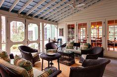 Screened Porch, South Carolina Marsh House