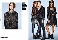 Diesel Gets Meta for Fall 2015 Campaign - Fashion Gone Rogue