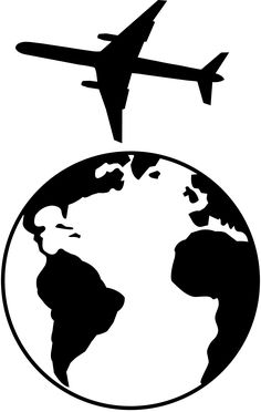 Superb Black And White Planet Earth   Free Clip Art