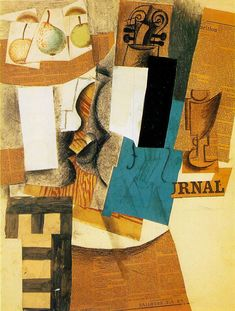 Collage by Pablo Picasso