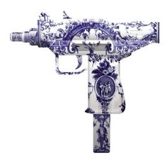 Delft Machine Gun by Magnus Gjoen #art #contemporaryart pic.twitter.com/eWQ6JwdI3T