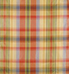 Reveur Plaid Coral & Blue by Scalamandre Plaid Flannel, Blue Plaid, Blue Fabric, Silk Fabric, Coral Blue, Fabric Patterns, Fabric Design, Swatch, Area Rugs