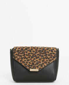 Sac boxy léopard - Vous êtes irrésistibles avec une touche de léo :)