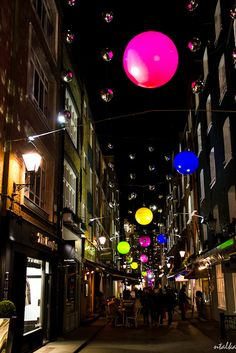 St Christopher's place - Christmas Illumination, London - I have many memories of this little corner of Mayfair. I used to live just on the other side of Oxford street.
