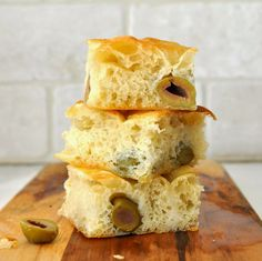 Cooking with Manuela: Freshly Baked Focaccia Bread with Green Olives