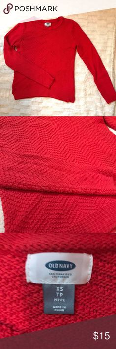 """🚨SALE 🚨 Old navy knit sweater Beautiful old navy knit sweater. Size XS. Waist across - 15"""" 