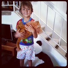 DIY Tutorial: Childs Pajama Shorts
