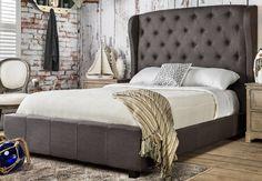 McKenzie Upholstered Platform Bed