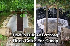 How To Build An Earthbag Root Cellar For Cheap, root cellar, root cellar plans, free root cellar plans, food preservation, shtf, homesteading, prepping,