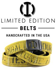 Must have!! Optix International | Fire Hose Belts, Apparel & Accessories