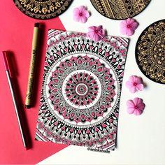 Thank you so much for 3000 followers 💓 🌸🌸🌸🌸🌸🌸🌸🌸🌸🌸🌸🌸🌸🌸 #mandala #mandalas #mandalaart #mandalalove #mandaladesign #mandalala… Mandala Book, Mandala Art Lesson, Mandala Doodle, Mandala Artwork, Easy Mandala Drawing, Doodle Art Drawing, Dark Art Drawings, Colorful Drawings, Ganesha Art