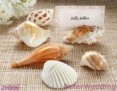 「海による貝」のPlacecards@BeterWedding卸し売りZH006の一致を用いる確実な貝の場所の帯出登録者
