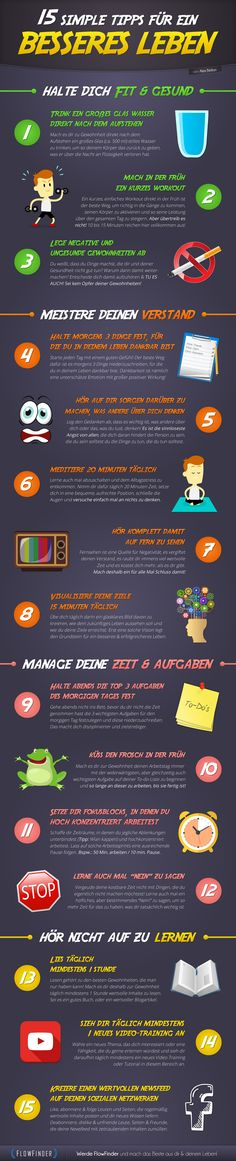 15 simple tips for a better life
