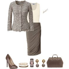 """""""Taupe"""" by doris610 on Polyvore"""