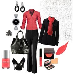 Work color..., created by smclarke on Polyvore