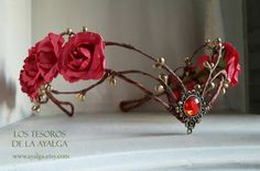 elven bride tiara   elven tiara  fairy circlet от Ayalga на Etsy