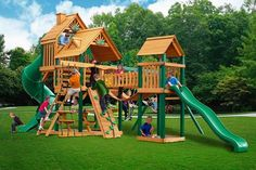 The Reserve Kid Wooden Swingset