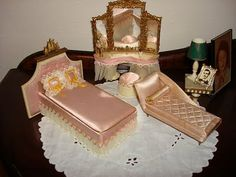 Petite Princess Fantasy Furniture- bedroom set.  I still have most of this set for my Liddle Kiddles.
