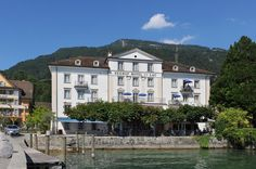 Seehof Hotel Du Lac, Weggis, Switzerland - Booked our stay here! Lucerne :)
