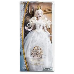 Amazon.com: Mirana The White Queen Disney Film Collection Doll - Alice Through the Looking Glass - 13 1/4'': Toys & Games