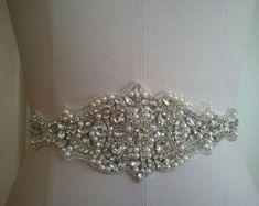 SAMPLE SALE  Wedding Belt Bridal Belt Sash от LucyBridalBoutique