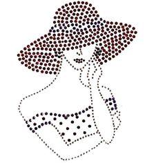 Dame met hoed 2