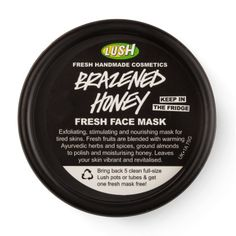 Brazened Honey | -Mascarillas | Lush Fresh Handmade Cosmetics