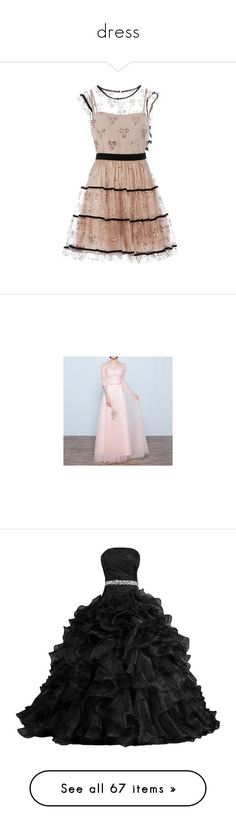 """dress"" by momomoe ❤ liked on Polyvore featuring dresses, vestidos, valentino, short dresses, mini dress, lacy dress, empire waistline dresses, lace mini dress, empire waist mini dress and gowns"