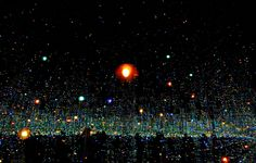 """Six of the Japanese ultra-Pop artist's """"infinity mirror"""" rooms and other works…"""
