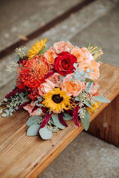 Trina Schmidt Weddings, The I Do Photography, Smog Shoppe Wedding, Wedding Inspo, Red Wedding, Rebelle Fleurs Event Design, wedding bouquet