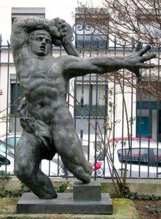 Antoine Bourdelle : Grand guerrier. Musée Bourdelle Paris XV Art Sculpture, Modern Sculpture, Auguste Rodin, Antoine Bourdelle, Carpeaux, Baroque Art, Body Figure, Famous Art, Italian Renaissance